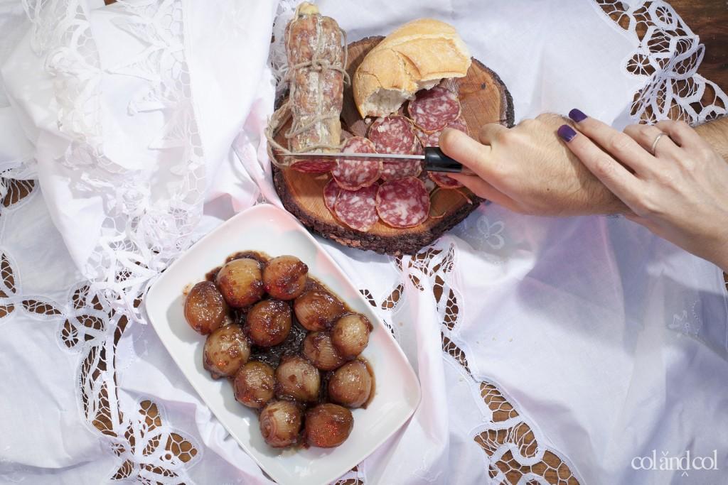 CEBOLLITAS AGRIDULCES A LA ROMANA