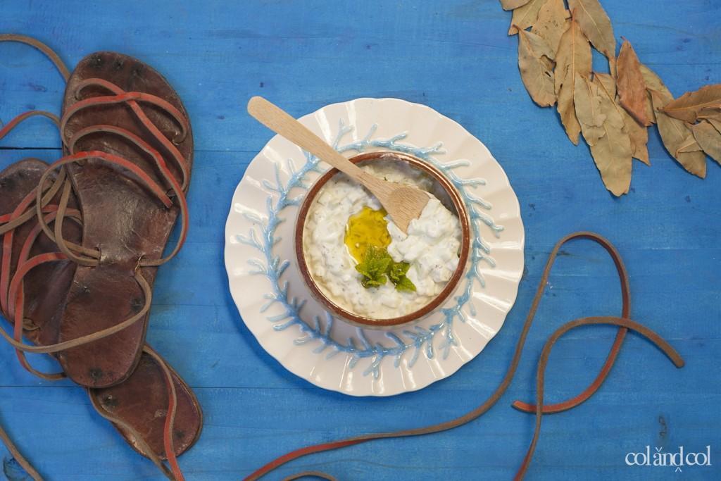 Leban u jiar (pepino con yogur)