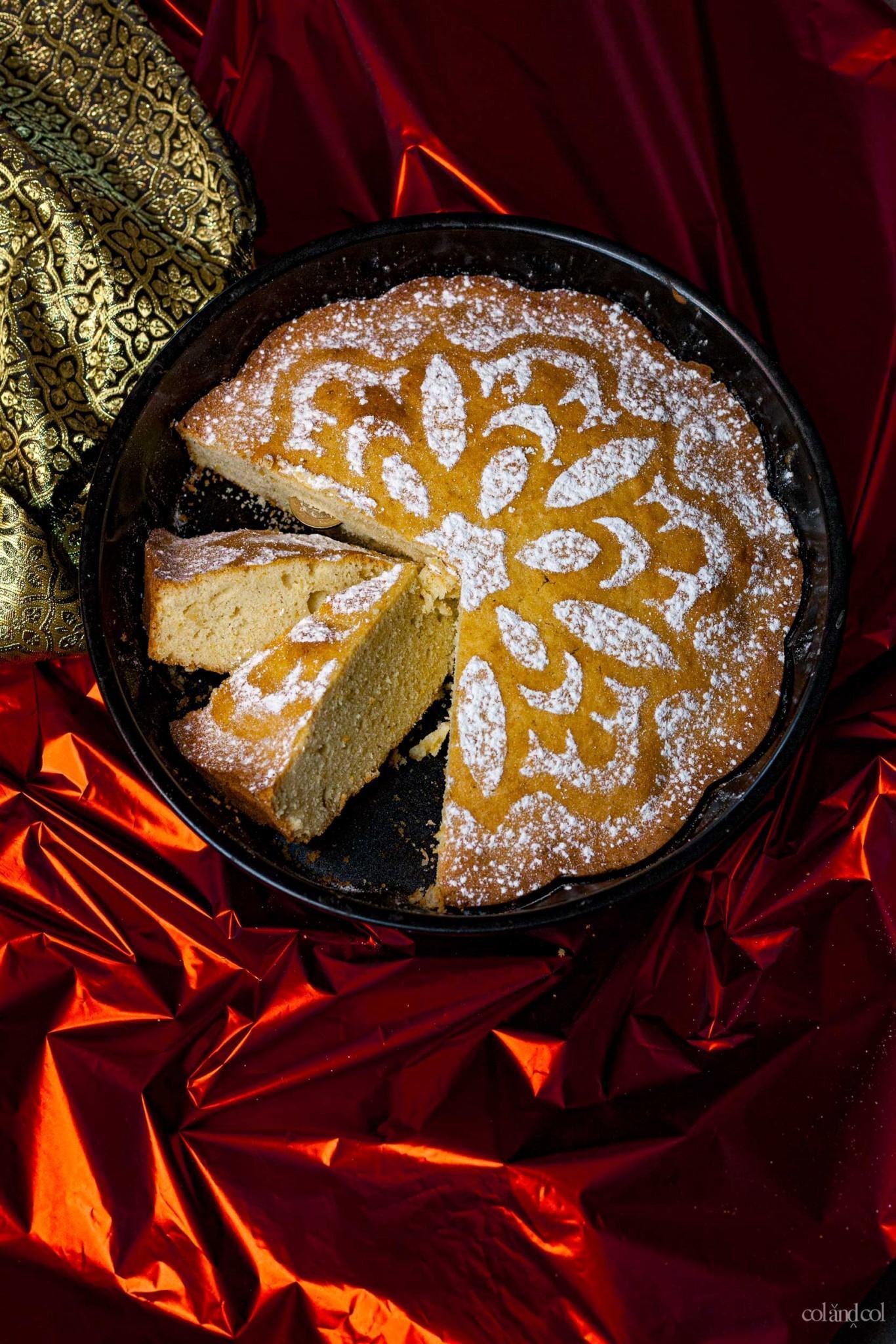 Receta pastel griego de año nuevo