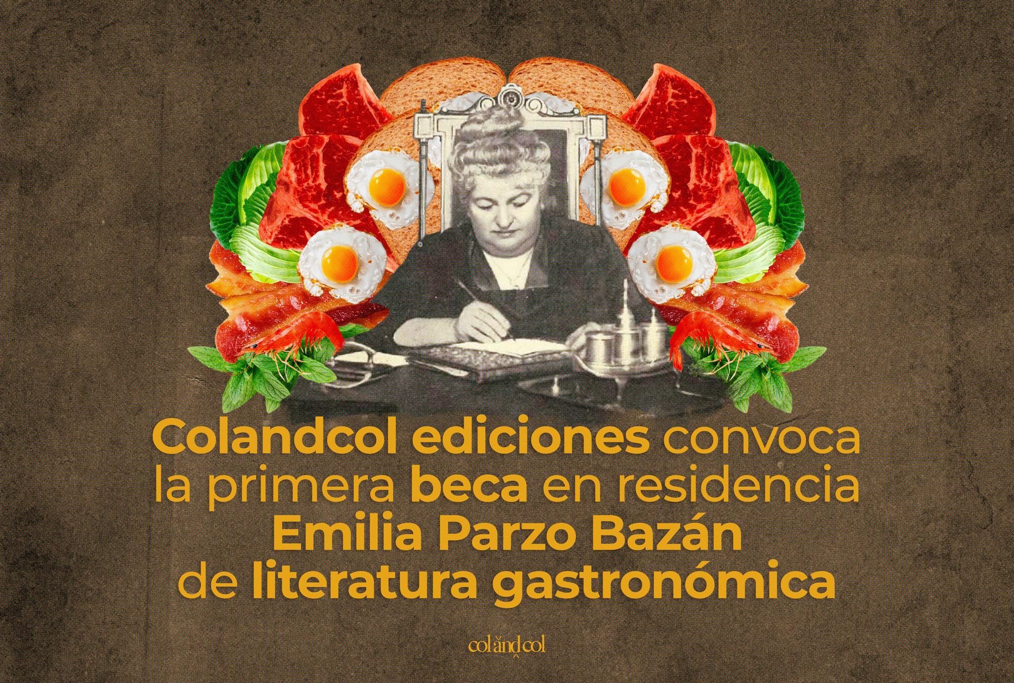 Beca Emilia Pardo Bazán de literatura gastronómica